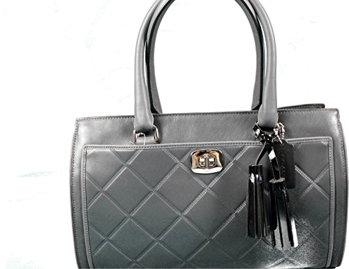 Coach Legacy Embossed Quilted Leather Chelsea Carryall