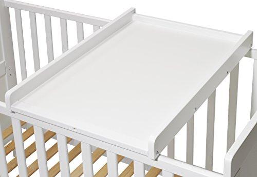 KOKO- Wickelbrett | Wickeltisch | Wickelaufsatz für Betten...