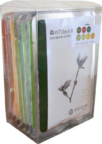 yuica 入浴剤 7days bath 7種セット 60g×7種