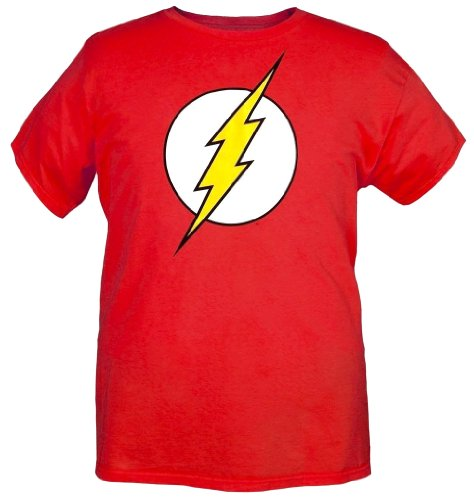 Dc Comics Men's Comics The Flash Costume Hoodie