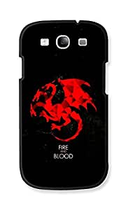 EYP Game Of Thrones GOT House Targaryen Back Cover Case for Samsung Galaxy S3 Neo GT-I9300