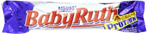 Baby Ruth Chocolate Bar, 2.1 Ounce Bars (Pack of 24) (Baby Ruth Chocolate compare prices)