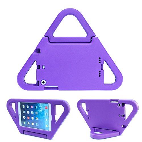 Bolete iPad mini1/mini2 Case Kids Friendly Triangle Ultra Light Weight Shock Proof Super Protective With Handle Stand Case Cover for iPad mini1/mini2,Purple (Ebay Pur compare prices)
