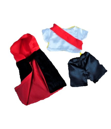 """Count Dracula Outfit Fits Most 8""""-10"""" Webkinz, Shining Star And 8""""-10"""" Make Your Own Stuffed Animals And Build-A-Bear front-424305"""