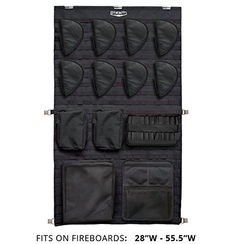 Stealth Molle Gun Safe Door Panel Organizer Large (Molle Door Panel compare prices)