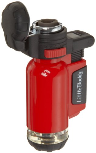 Blazer Little Buddy Refillable Butane Micro Torch, Red