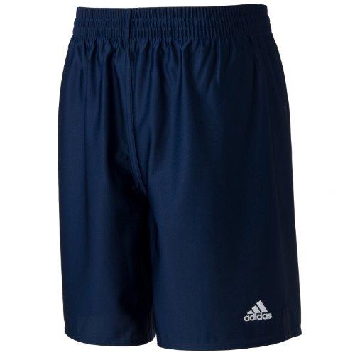 (Adidas) adidas BASIC game shorts (inseam 20 cm) X5825 342550 new Navy / white L