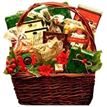 Joy To The Season Christmas Holiday Gourmet Food Gift Basket