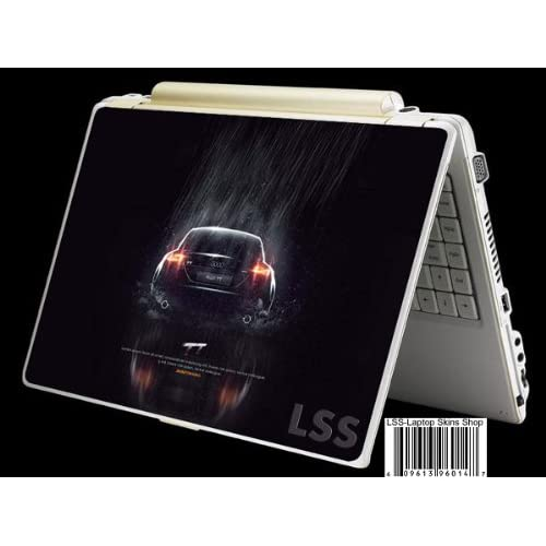 Laptop Skin Shop Laptop Notebook Skin Sticker Cover Art Decal Fits 13.3 14 15.6 16 HP Dell Lenovo Asus Compaq (Free 2 Wrist Pad Included) Audi Car