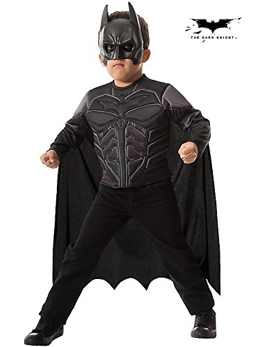 Batman Dark Knight Muscle Chest Shirt Set Costume for Kids