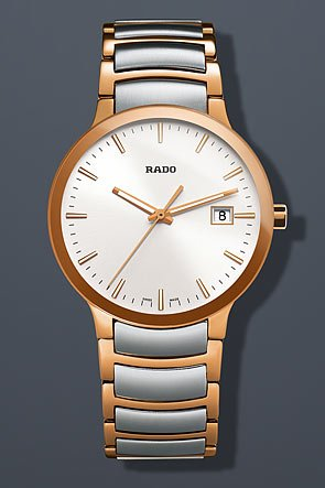 Rado Centrix Automatic Two-Tone Stainless Steel Mens Watch R30554103