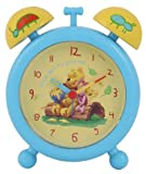 Winnie The Pooh Stuck In His Honey pot Twin Bell Childrens Bedroom Alarm Clock - Great Gift Idea