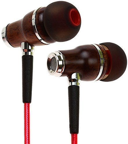Symphonized-NRG-20-Premium-Genuine-Wood-In-ear-Noise-isolating-HeadphonesEarphonesEarbuds-with-Innovative-Shield-Technology-Cable-and-Mic