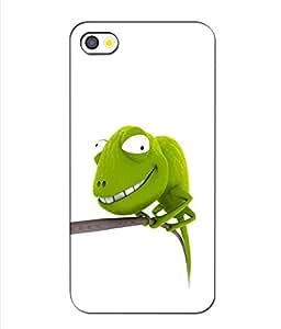 Crazymonk Premium Digital Printed 3D Back Cover For Apple I Phone 5