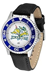 South Dakota State Jackrabbits Suntime Competitor Poly/Leather Band Watch - NCAA College Athletics