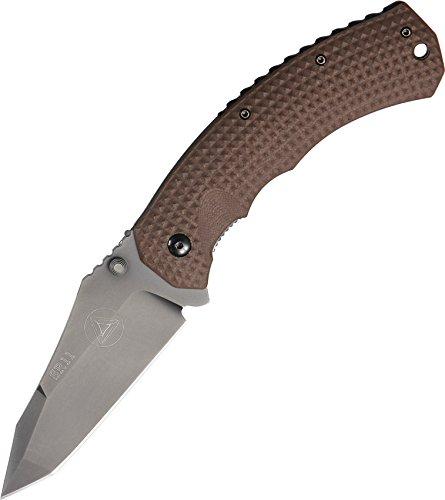 Combative Edge CBE00402CB SR-11 Folding Knife, Coyote Brown