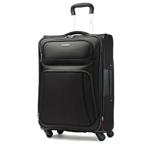 Samsonite Luggage Aspire Sport Spinner 21 Expandable Bag, Black, Carry-on reviews