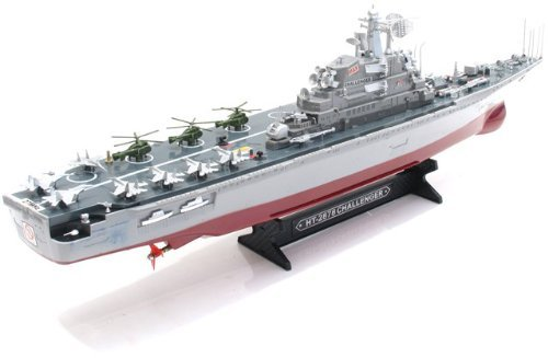 30 Challenger Warship Aircraft Carrier RC 1275 Battleship R C Model Boat