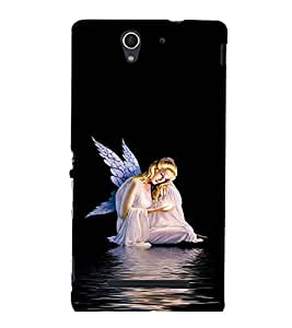 printtech Fairy Wings Angel Back Case Cover for Sony Xperia C3 Dual D2502::Sony Xperia C3 D2533