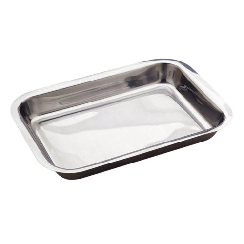 Norpro Stainless Steel 16 Inch Roast Lasagna Pan (Roasting Pans Stainless Steel compare prices)