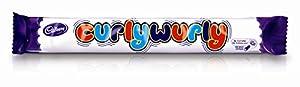 Cadbury Curly Wurly Bar from England (Pack 6 Bars)
