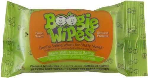 Boogie Wipes 10 Count Fresh Scent Travel Pack - 1