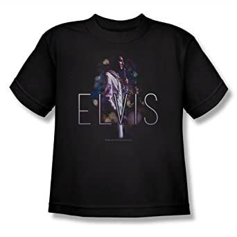 Elvis Presley - Youth Dream State T-Shirt In Black, X-Large, Black