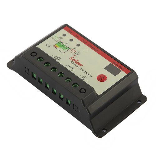 Gadgetzone (Us Seller) Cmt Pwm Charge Mode Solar Charge Power Controller 12V 24V 10Amp, Soc Function, Fully Automatic Operation, Double Digital Led Display