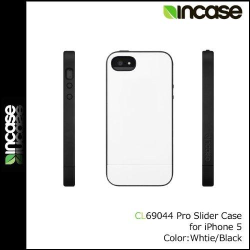 (インケース)INCASE (アイフォン ケース)iPhone Case [ホワイト×ブラック] CL69044 Pro Slider Case iPhone5対応 男女兼用WHITE×BLACK ホワイト×ブラック(平行輸入品)