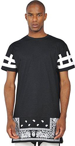 pizoff-homme-t-shirt-ultra-long-avec-ourlet-zippe-fermeture-a-glissiere-paisley-y0356-no3-s