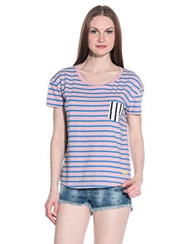 T-Shirt Manica Corta Orange Label Nep-Stripe
