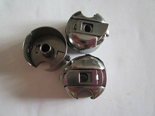 3pcs Industrial Sewing Machine Bobbin Case Juki, Toyota, Brother, Singer (Kenmore Needles 14 compare prices)