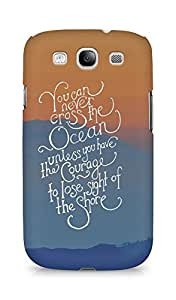 AMEZ you can never cross the Ocean Back Cover For Samsung Galaxy S3 Neo