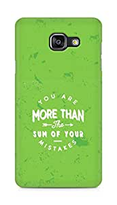 AMEZ you are more than the sum of your mistakes Back Cover For Samsung Galaxy A5 (2016 EDITION)