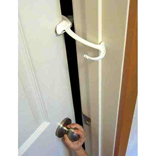 Door Monkey, Childproof Door Lock & Pinch Guard, Pack of 3