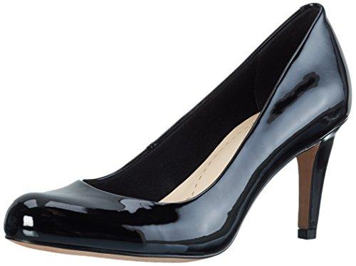 Clarks Carlita Cove - Scarpe con Tacco Donna, colore nero (black pat), taglia 39 EU