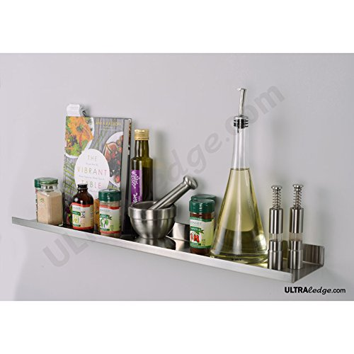 3 39 36 stainless steel over the range ultraledge shelf. Black Bedroom Furniture Sets. Home Design Ideas