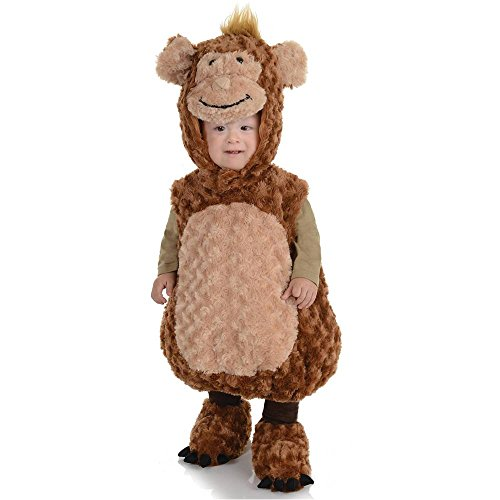 Monkey Plush Belly Toddler Costume