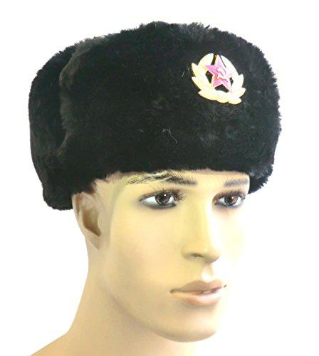 COLBACCO NERO UNISEX IN LANA IN DOTAZIONE ESERCITO RUSSO ORIGINAL SOVIET - IDEA REGALO
