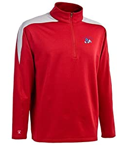 Fresno State Succeed 1 4 Zip Performance Pullover by Antigua