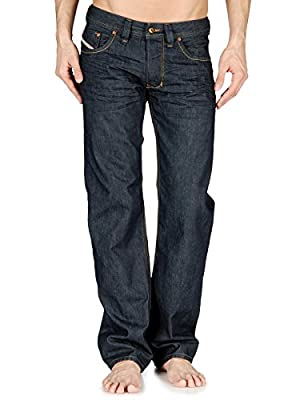 Diesel Larkee Regular Fit Mens Jeans - Dark Wash 08Z8