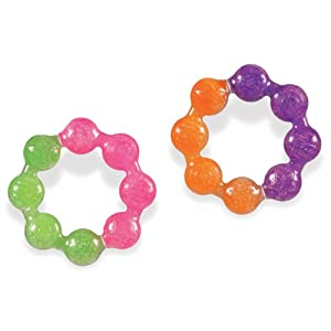 Munchkin Fun Ice Soothing Ring Teether - 2 pack by Munchkin