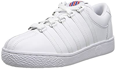 K-Swiss 501 Classic Tennis Shoe (Little Kid)