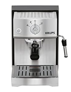 KRUPS XP5240 Pump Espresso Machine with KRUPS Precise Tamp Technology and Stainless Steel Housing, Silver from KRUPS