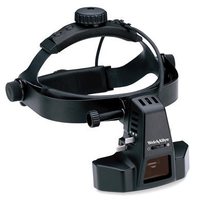 Welch Allyn Binocular Indirect Ophthalmoscope With Diffuser And Yellow Filter Bio 12500-Dy