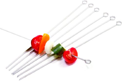 Best Price Norpro 1934 Stainless Steel 14-inch Skewers, Set of 6