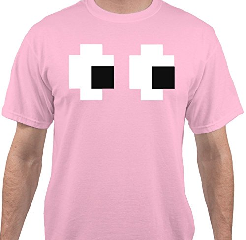 Pac Man Ghost T-Shirt- Five colours available. Keep your eyes on anyone standing next to you!