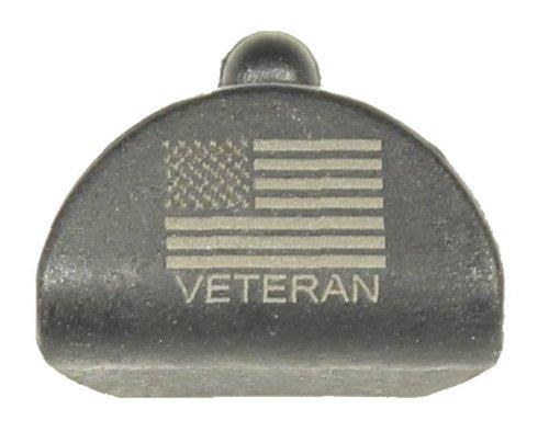 Sure Plug 1 Laser Engraved Us Flag Veteran - Designed For Gen 1-3 Glock Models 17,18,19,20,21,22,23,24,25,31,32,34,35, 37,38