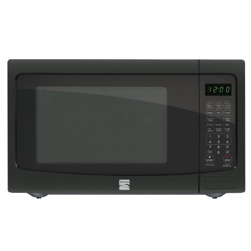 Kenmore 1.6 cu. ft. Countertop Microwave Black 73169 (Kenmore Microwave Black compare prices)