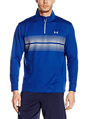 Under Armour Camiseta Manga Larga Técnica Cg Infrared Heartbeat 1/4 Zip (Azul)